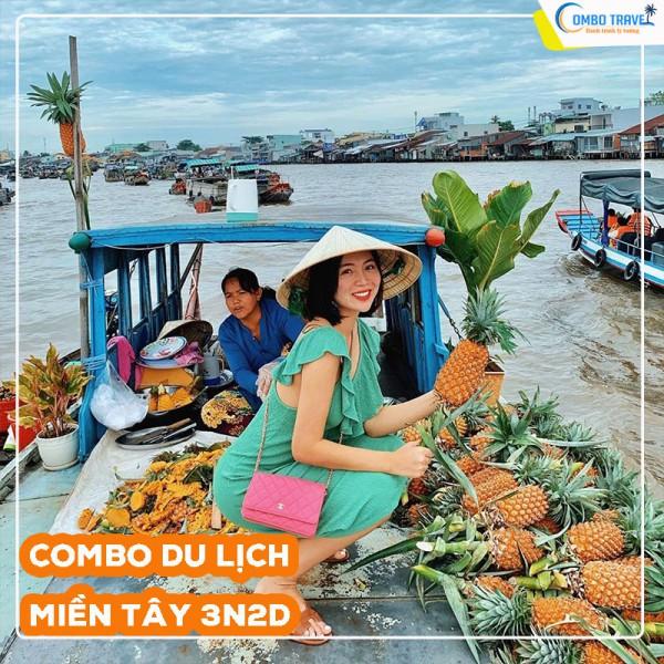 Combo du lịch Cần Thơ 3N2D: VMB từ Hà Nội + Ninh Kiều Riverside Hotel