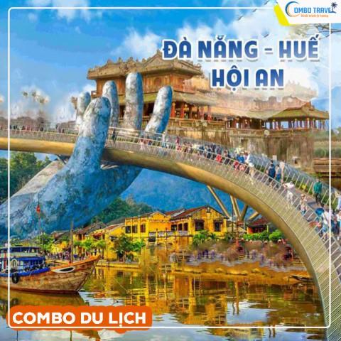 Combo du lịch Đà Nẵng - Hội An - Huế từ Hà Nội 4N3D VMB và Khách sạn
