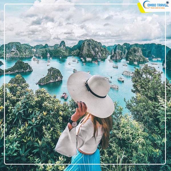 Combo du lịch Hạ long 2N1D từ Hà Nội: Xe Limousine + Golden Hotel