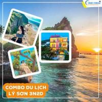 Combo du lịch Lý Sơn - Vé máy bay và khách sạn Hiệp Sỹ 3N2D từ Hà Nội