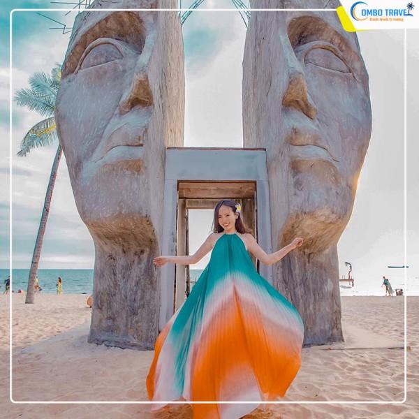 [KÍCH CẦU DU LỊCH 2021] Combo du lịch Phú Quốc từ Sài Gòn 3n2D: Vé MB + Ngọc Châu Hotel 3*