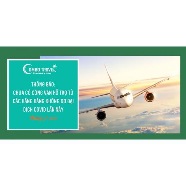 [TB] V/v Hoàn Hủy chuyến bay và các chương trình du lịch do Covid19