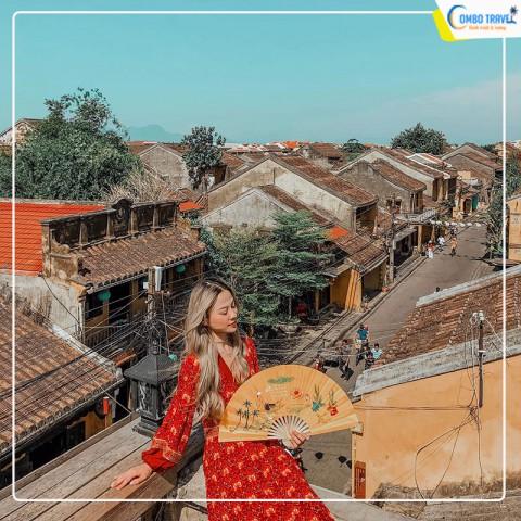 Combo du lịch Đà Nẵng 4N3D: Vé máy bay +  Flower Hotel Da Nang