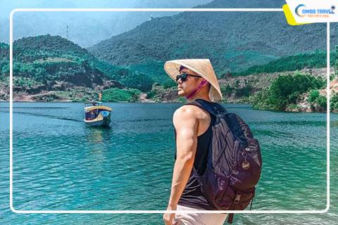 Review du lịch Suối Tiên - Hồ Thủy Tiên - Thừa Thiên Huế