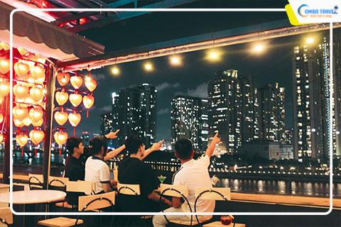 """Ra mắt quán """"view triệu đô"""" lung linh độc nhất vô nhị tại Sài Gòn"""