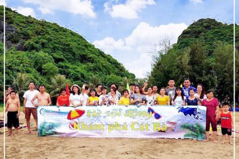 Tour đoàn riêng Cát Bà 3 ngày cùng Công ty TNHH TM và TTNT Trung Á