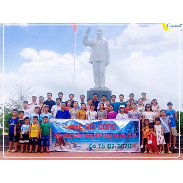 Du lịch Cô Tô 3 ngày cùng đoàn trường THCS Đông Phú - Lục Nam