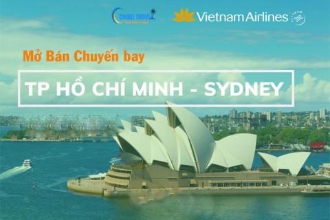 [TB] Vietnam Airlines Thông báo mở bán SGN-SYD tháng 5/2021
